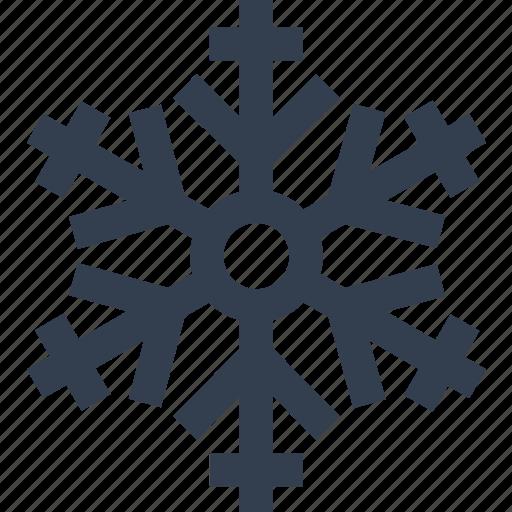 Christmas, flake, silhouette, snow, winter icon | Icon ...