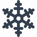 flake, snow, snowflake, winter icon