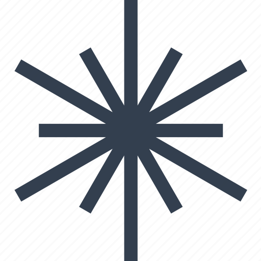 christmas, flake, snow, snowflake, star, winter icon