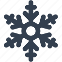 christmas, flake, frozen, snow, snowflake, winter icon