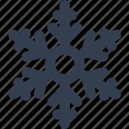 christmas, flake, frozen, snow, snowflake, winter icon