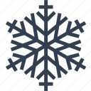 art, christmas, flake, snow, winter icon