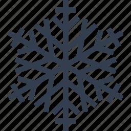 art, christmas, flake, snow, winter icon