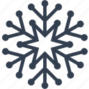 christmas, cute, decoration, flake, snow, snowflake, winter icon