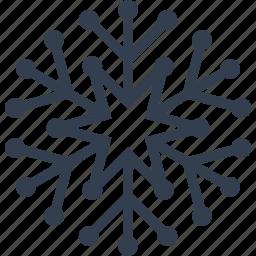 christmas, cute, decoration, flake, snow, snowflake, winter icon
