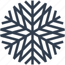 christmas, decorative, flake, snow, snowflake, winter icon