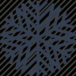 christmas, decorative, flake, snow, snowflake, winter icon