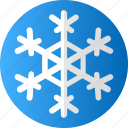 blue, christmas, cold, ice, snow, snowflake, winter icon
