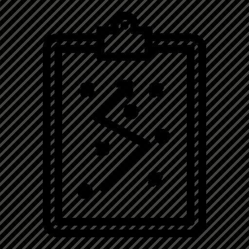 board, football, plan, soccer, strategy icon