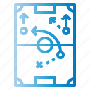 board, competition, planning, strategy, tactics icon