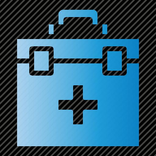 Doctor, emergency, hospital, kit, medical icon - Download on Iconfinder