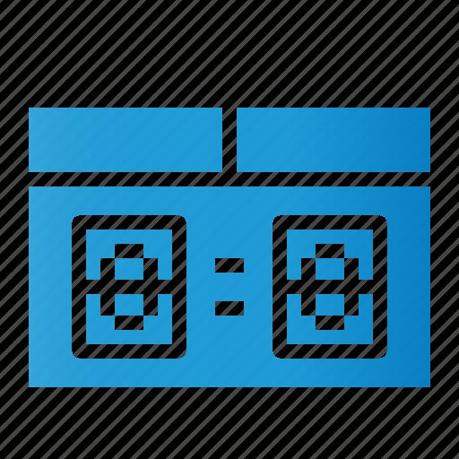 Scoreboard, scoring, sports, stadium icon - Download on Iconfinder