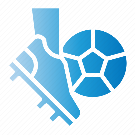 Ball, football, kick, shoes, shoot, soccer icon - Download on Iconfinder