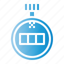 chronometer, clock, stopwatch, timer icon