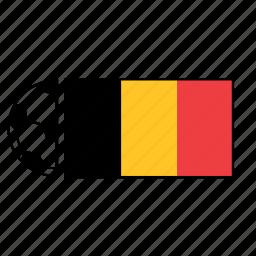 ball, belgium, country, flag, football, soccer icon
