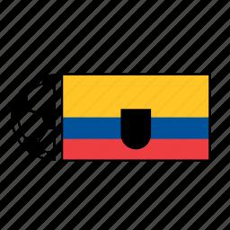 ball, country, ecuador, flag, football, soccer icon