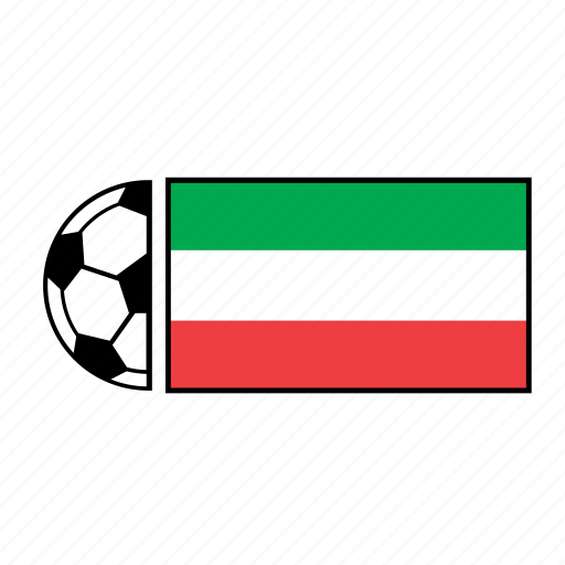 ball, country, flag, football, iran, soccer icon