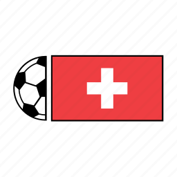 ball, country, flag, football, soccer, switzerland icon