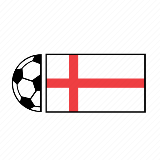 ball, country, england, flag, football, soccer icon