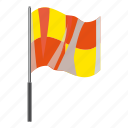 cartoon, flag, hape, large, soccer, wave, wind icon
