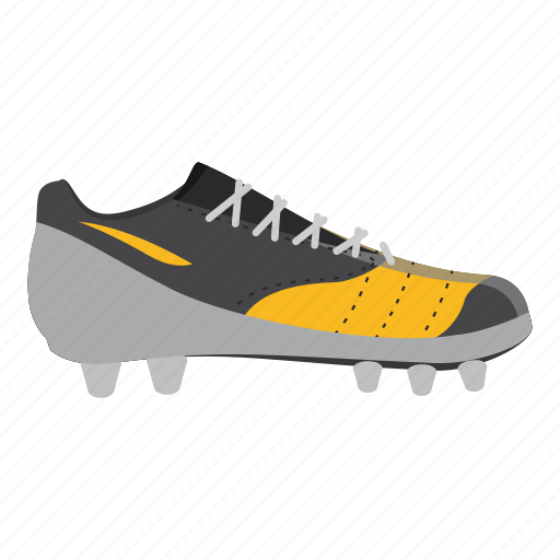 cartoon, equipment, football, league, shoe, soccer, sport icon