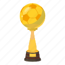 best, cartoon, cup, first, place, success, trophy icon