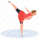 athlete, fitness, gymnastic, sport, yoga