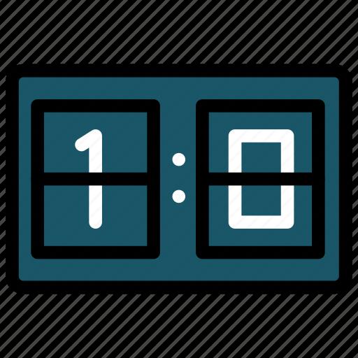football, game, points, score, scoreboard, soccer icon