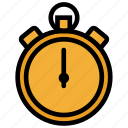 measure, soccer, speed, sport, stopwatch, time, timer, watch icon