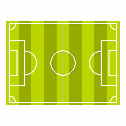 competition, field, football, play, soccer, top, view icon