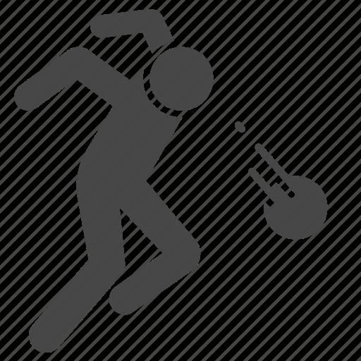 action, football, header, player, shoot, soccer icon