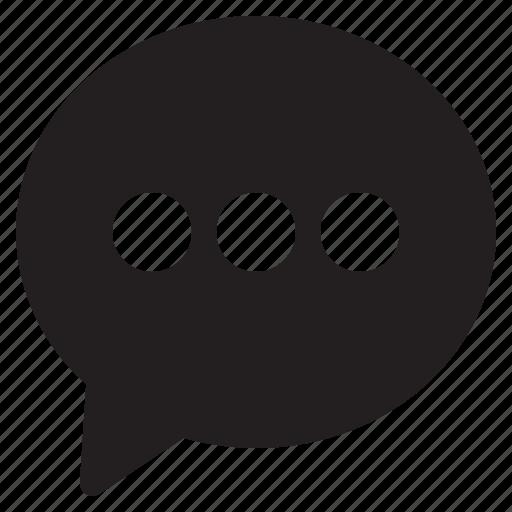 bubble, chat, comunication, message, talk icon