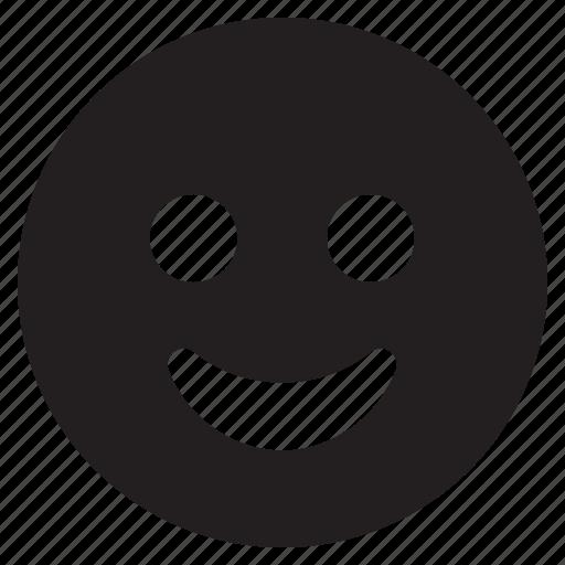 emoji, emoticon, emotion, face, happy, smiley icon