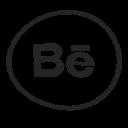 media, logo, behance, social
