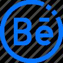 behance, circle, communication, social