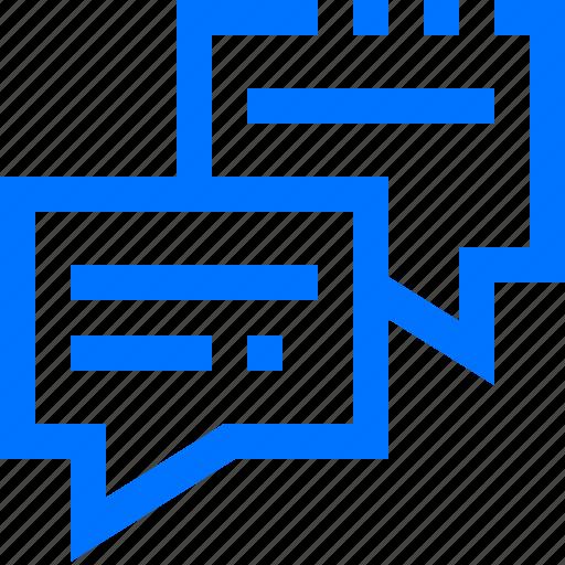 box, chat, communication, conversation, social, square, talk icon