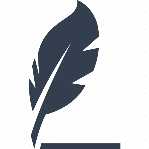 communication, feather, letter, notes, write icon