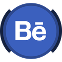 behance, portfolio, social media icon