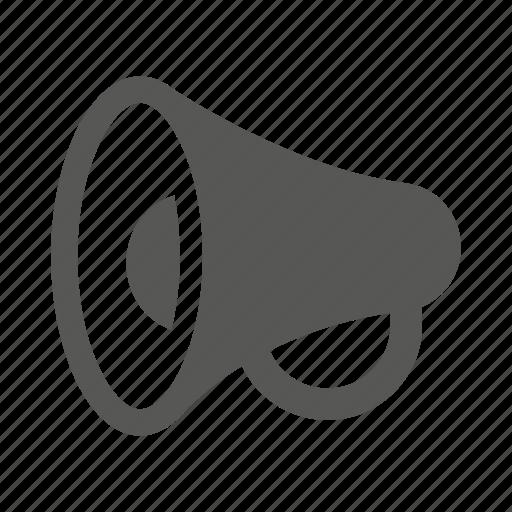 advertisement, advertising, alert, megafon, megafone, megaphone icon
