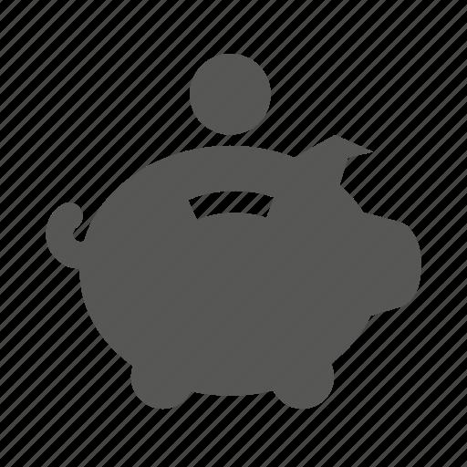 cash, guardar, money, piggy, piggybank, save, savings icon
