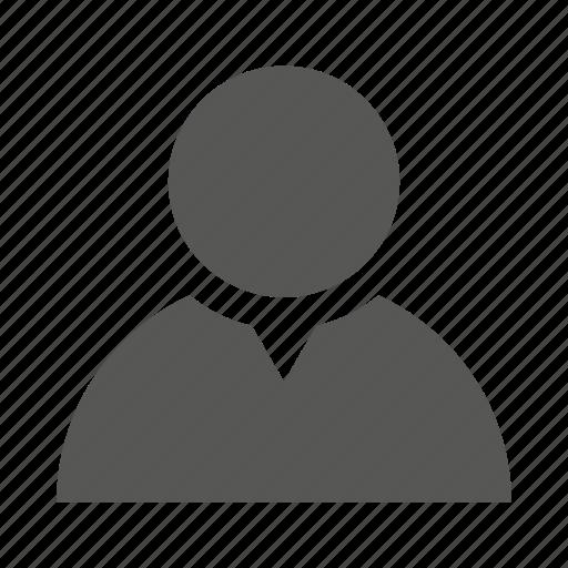avatar, client, customer, male, man, profile, user icon