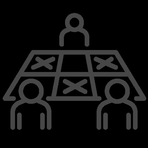 coronavirus, seat, social distancing, table icon