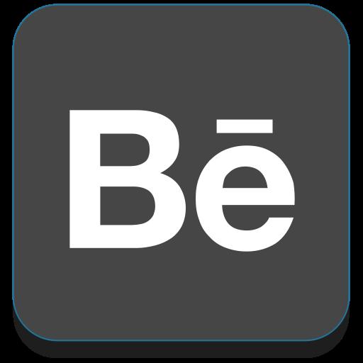 adobe, adobe portfolio, behance, media, portfolio, social icon