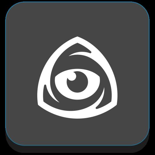 eye, iconfinder, logo, market icon