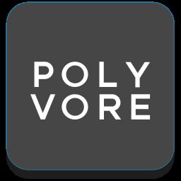 beauty, fashion, polyvore, shop icon