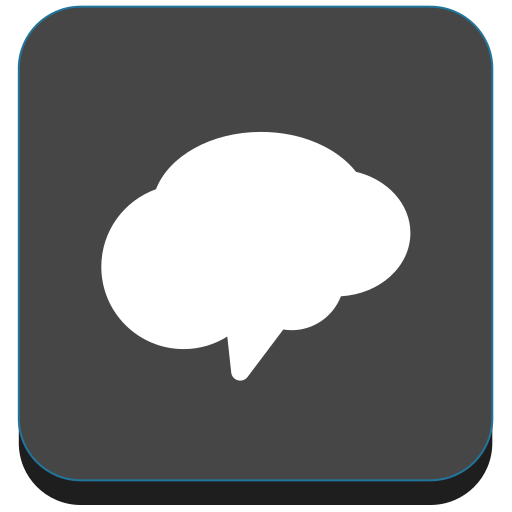 cloud, communication, messaging, messenger, remind, social icon