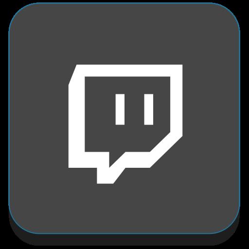 media, social, social media, twitch icon