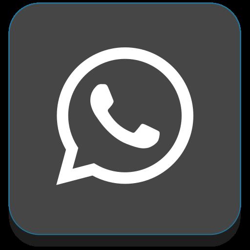 app, media, network, phone, social, whatsapp icon