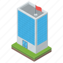 architecture, building, office, skyscraper, superstructure icon