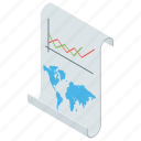 bar chart, data analytics, graphical presentation, marketing analysis, statistics icon